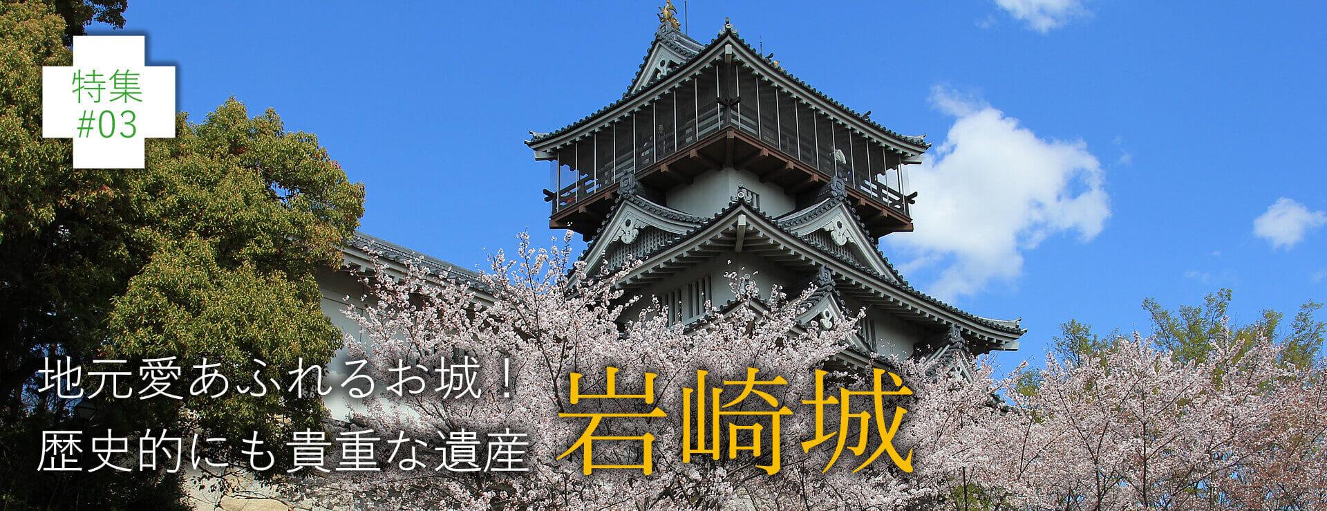 特集#03 地元愛あふれるお城!歴史的にも貴重な遺産 岩城城